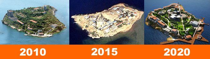 Yassıada'nın geleceği Grafik: Denizhaber.com