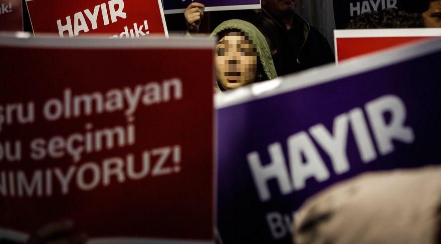 YSK protestocularından ikisi için tutuklama istemi