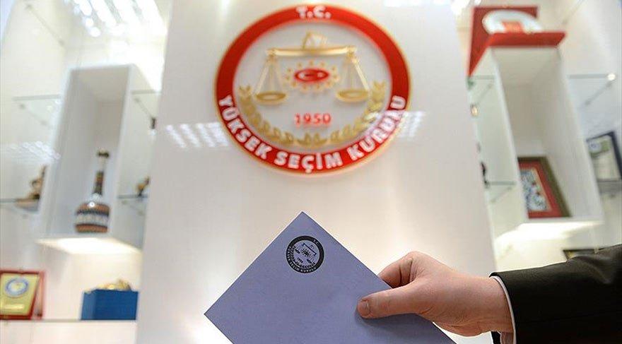 Seçimlere katılabilecek partiler açıklandı