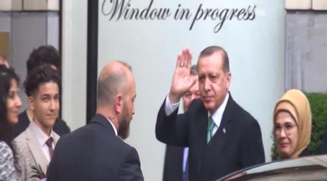 Cumhurbaşkanı Erdoğan, Brüksel'de