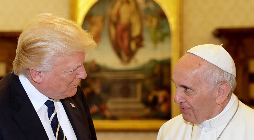 papa trump ile ilgili görsel sonucu