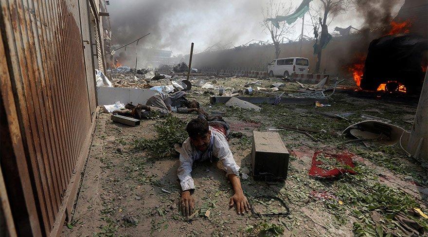 Afganistan'da dehşet: Diplomatik misyonların bulunduğu bölgede patlama - Son dakika dünya haberleri