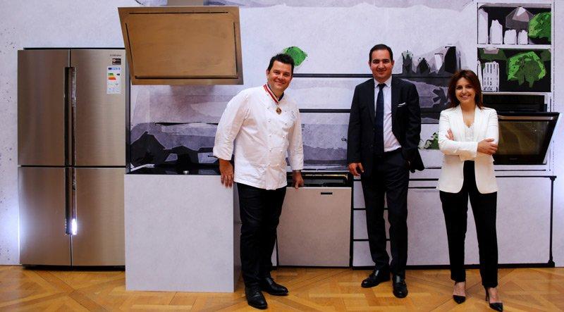 Samsung mutfakları profesyonelleştirecek