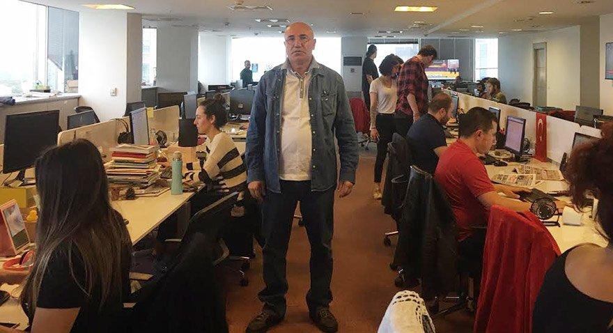 Mahmut Tanal: Yandaş medya erkenden bina önüne geldi