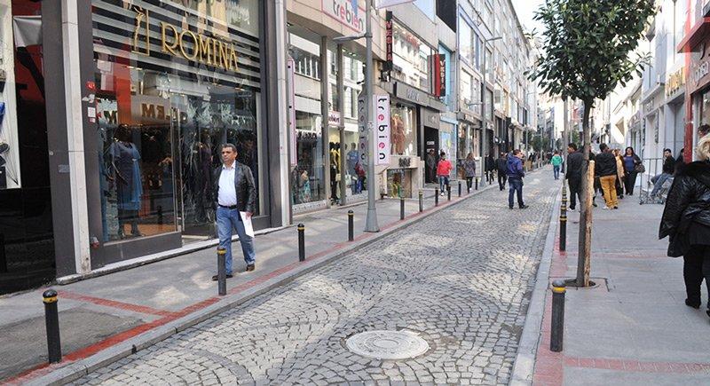 Suriyeliler Osmanbey'de dükkan kiralıyor