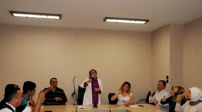 Gaziantep Belediyesi'nde 'İşaret Dili' dönemi