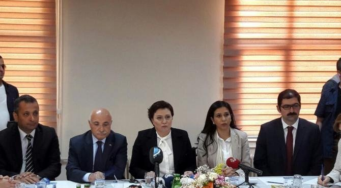 TBMM Komisyonu kız yurdu yanan Aladağ'da inceleme yaptı