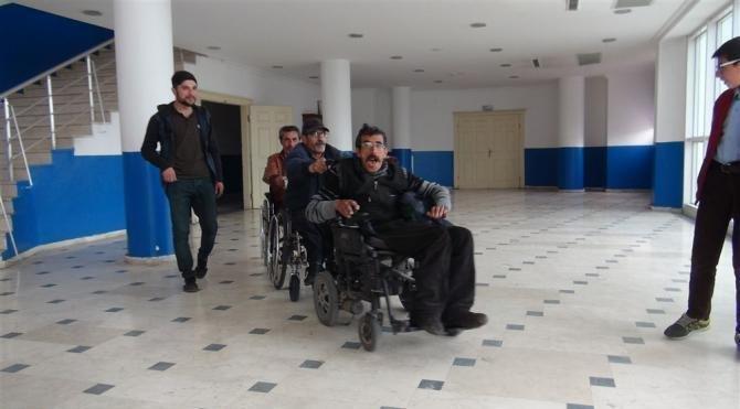 Engelli dayanışması