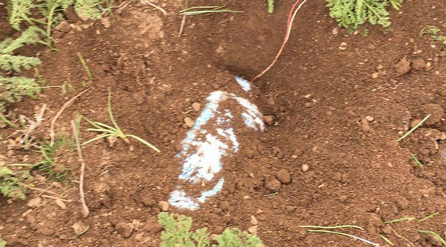 PKK'ya ait 3 bombalı tuzak imha edildi