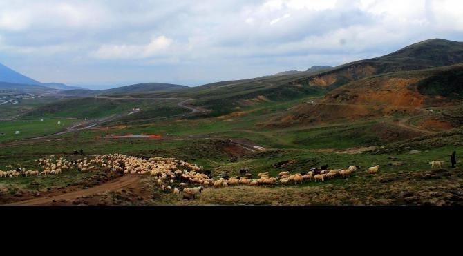 Erciyes'e göç başladı