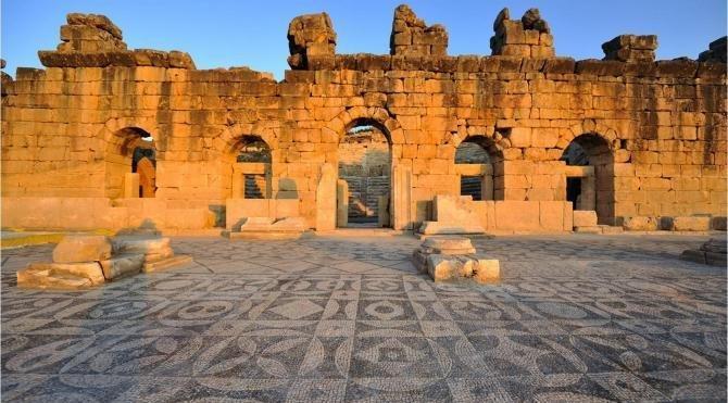 Kibyra Antik Kenti'ne ziyaretçi karşılama merkezi