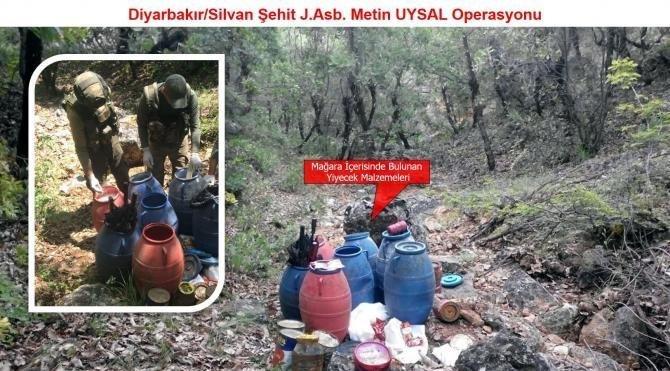 Silvan'de basma düzenekli el yapımı patlayıcı imha edildi