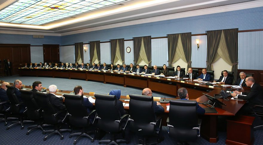 Erdoğan AKP Genel Merkezi'nde
