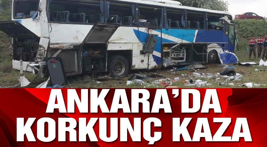 Ankara'da iki ayrı kaza: 12 ölü!