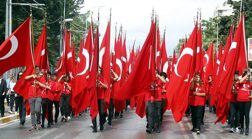 Türkiye genelinde 19 Mayıs coşkusu