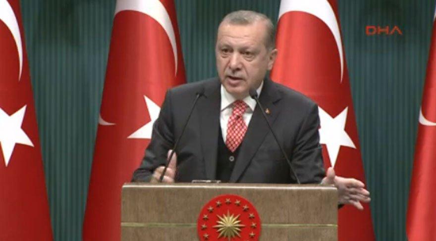 Erdoğan'dan gençlere: Devrimleri sizler yapacaksınız
