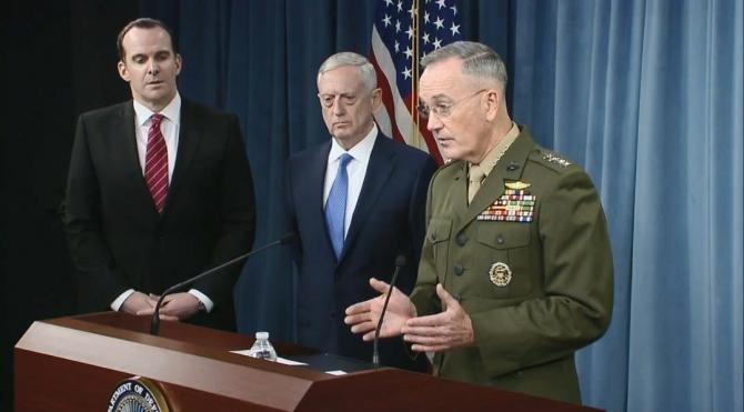 Mattis: Trump'ın yeni stratejisi, IŞİD'e yönelik olacak