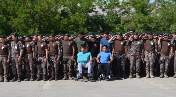 Şırnak'ta şehit polis Mesut Yılmaz'a uğurlama töreni