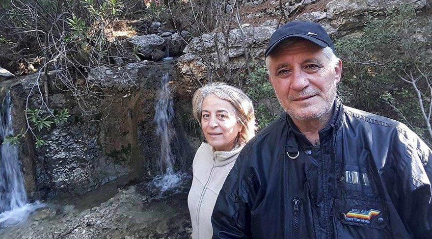 Çevreci Ali Ulvi ve Aysin Büyüknohutçu çifti Finike'de yaşadıkları dağ evinde öldürülmüşlerdi.