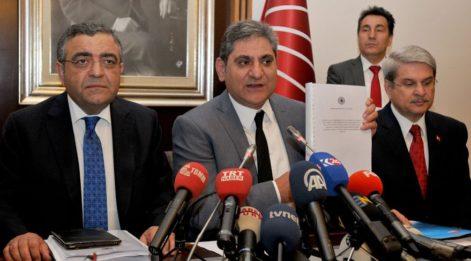 CHP'den Meclis'in FETÖ raporuna siyasi ayak itirazı