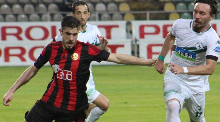TFF 1. Lig Play-Off İlk Maçları Oynandı