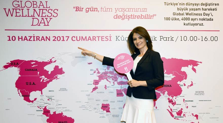 Bir Türk kadını Global Wellness Day ile milyonlarca insanın hayatını değiştiriyor