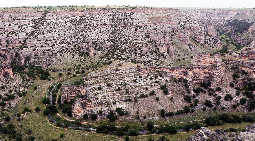Dünyanın ikinci büyük kanyonu Uşak'ta
