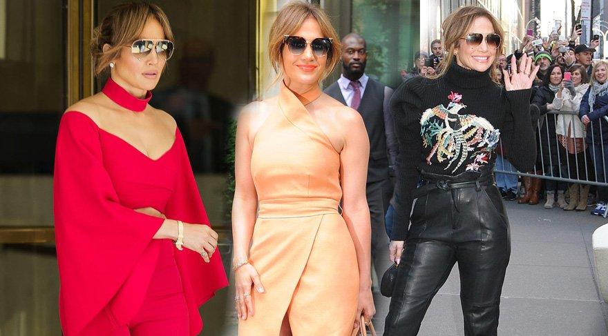 Jennifer Lopez, tarzıyla herkese ilham veriyor
