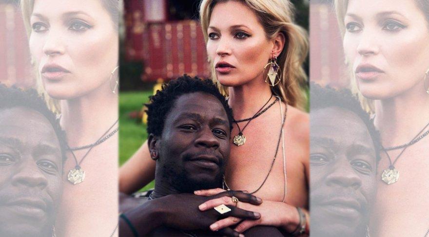 Kate Moss yeni mücevher koleksiyonu ile iddialı