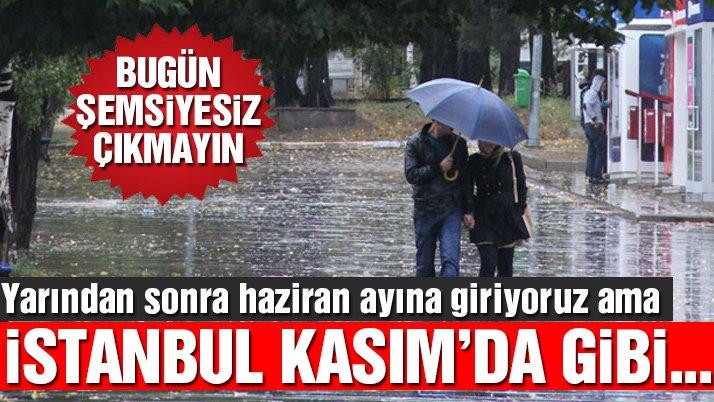 İstanbul'da sağanak yağış etkili oluyor… Yağışlar ne kadar sürecek?