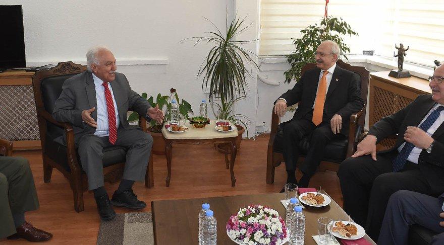 Kılıçdaroğlu'dan Vatan Partisi'ne ziyaret
