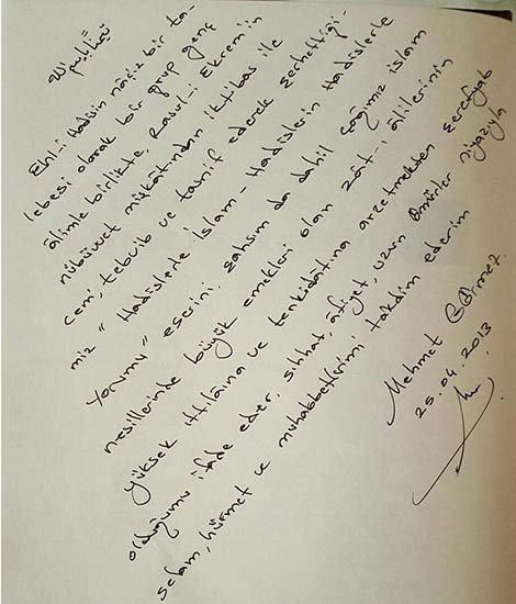 Mektup Canasbergdorfbibco