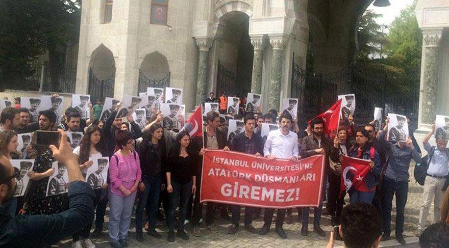 Mustafa Armağan üniversiteye sokulmadı