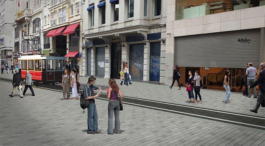 İşte İstiklal Caddesi'nin planlanan hali