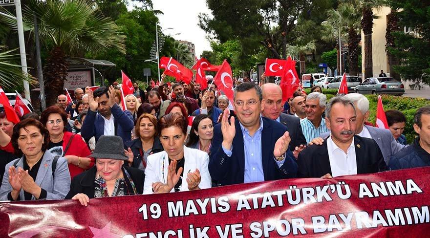 CHP'li Özel'den yürüyüş güzergahı tepkisi
