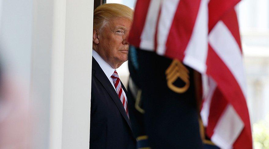 Danışmanları teslim oldu Trump konuştu