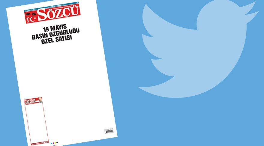 Sosyal medya, Sözcü gazetesinin bugünkü sayısını konuşuyor: Bu haliyle bile havuz medyasından daha dolu bir gazete olmuş