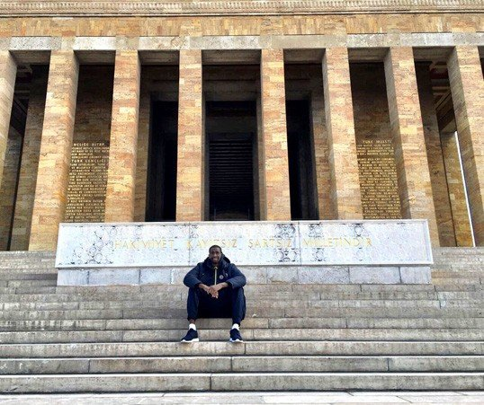 Udoh Anıtkabir'de Fotoğraf: DHA