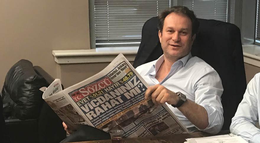 SÖZCÜ'nün patronu Burak Akbay, gazetesine konuştu: Tek suçum, Türkiye'de gazetecilik yapmak!