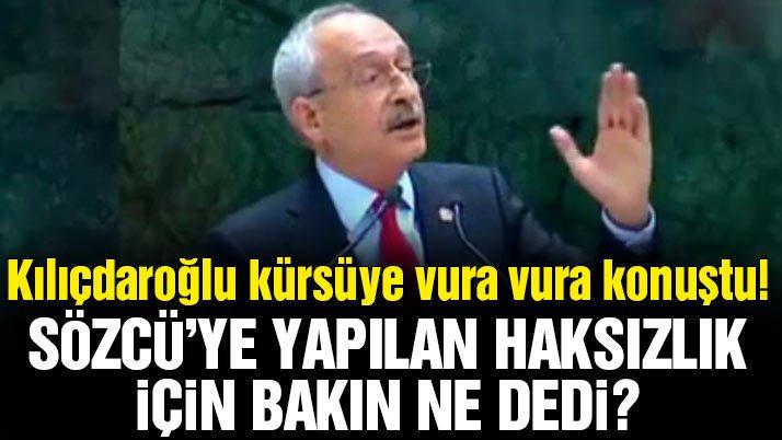 Son dakika... CHP Lideri Kılıçdaroğlu'ndan önemli açıklamalar