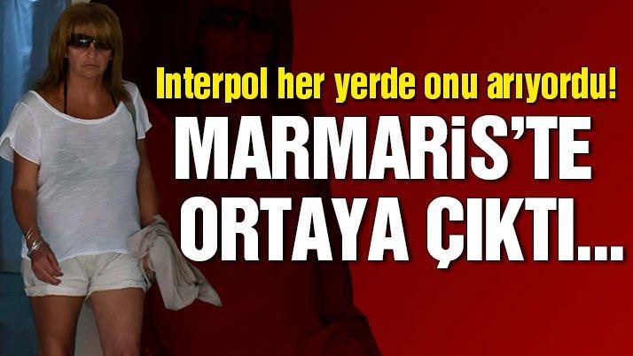 Interpol'ün aradığı İngiliz kadın, Marmaris'te bulundu