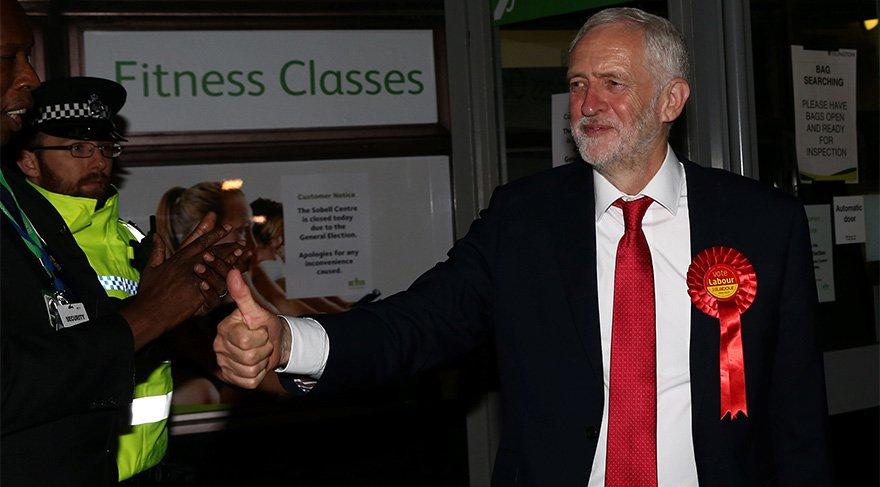 FOTO: REUTERS/ İşçi Partisi lideri Jeremy Corbyn