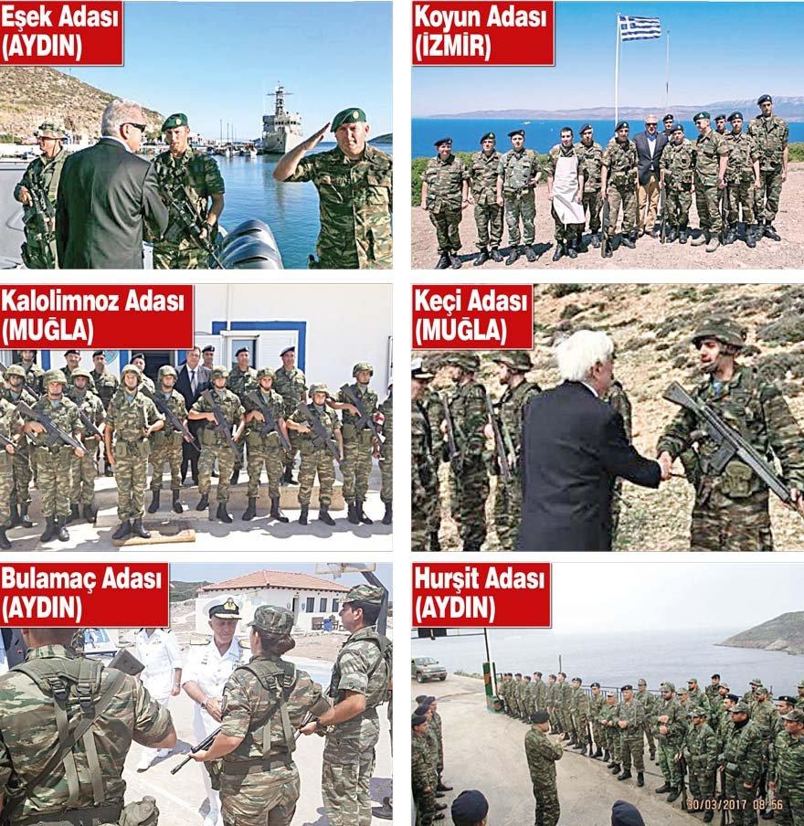 YUNAN ASKERİ ÜSLERİ 13 YILDIR FAALİYETTE Emekli Kurmay Albay Ümit Yalım, Yunanistan'ın işgal ettiği adalarda kurduğu bu üslerin 2004'ten beri 13 yıldır faaliyetlerini kesintisiz olarak sürdürdüğünü belirtti...
