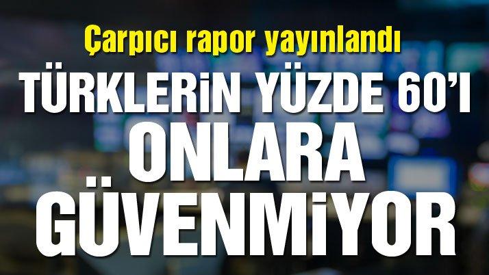Çarpıcı araştırma: Türkiye'de ana akım medyaya güven hızla azalıyor