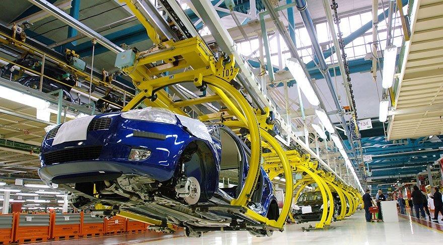 Otomotiv üretimi Mayıs'ta yüzde 23,5 arttı