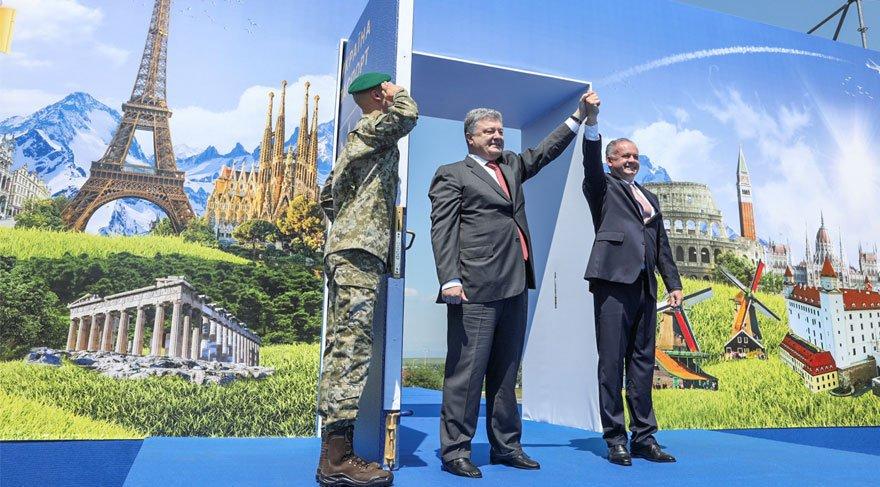 Ukrayna vatandaşları için vizesiz seyahat başladı