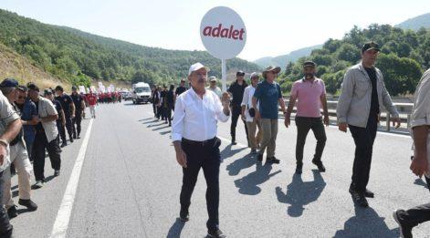 HDP'den Adalet Yürüyüşü'ne destek