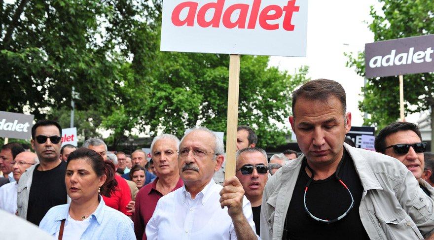Son dakika... CHP'nin tarihi 'Adalet Yürüyüşü'