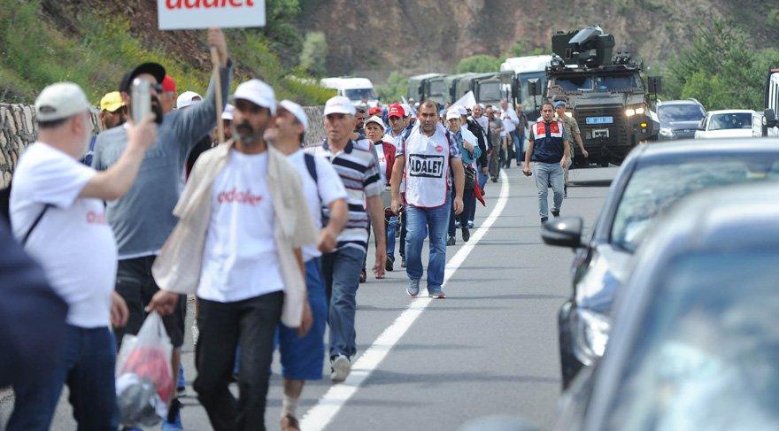 CHP yürüyüşünden acı haber! Hasan Tatlı kurtarılamadı