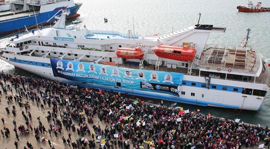 AKP İsrail'in Mavi Marmara aileleri için ödediği 20 milyon doların üstüne yattı